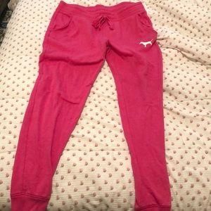 Pink pink sweatpants